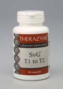 T1 to T2 SvG-180 Capsules (source of complex carbohydrate)