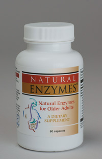 Natural Enzymes for Older Adults (digestion over age of 40)
