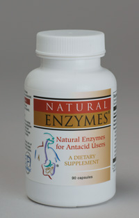 Enzymes for Antacid Users (supports stomach lining)