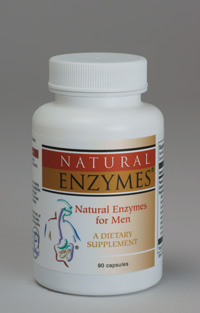 Natural Enzymes for Men (supports protein digestion)
